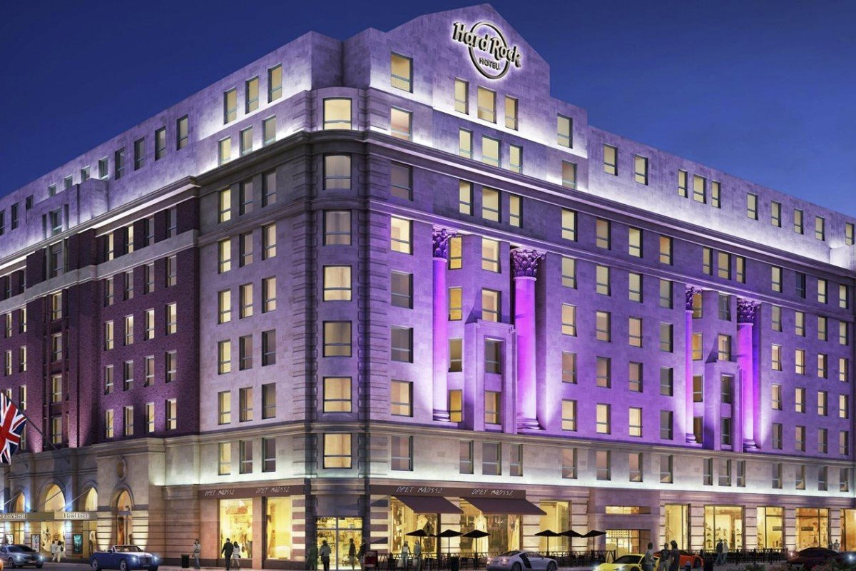 London welcomes Hard Rock Hotel, in a former haunt of Jimi Hendrix, Bob Dylan and Diana Ross