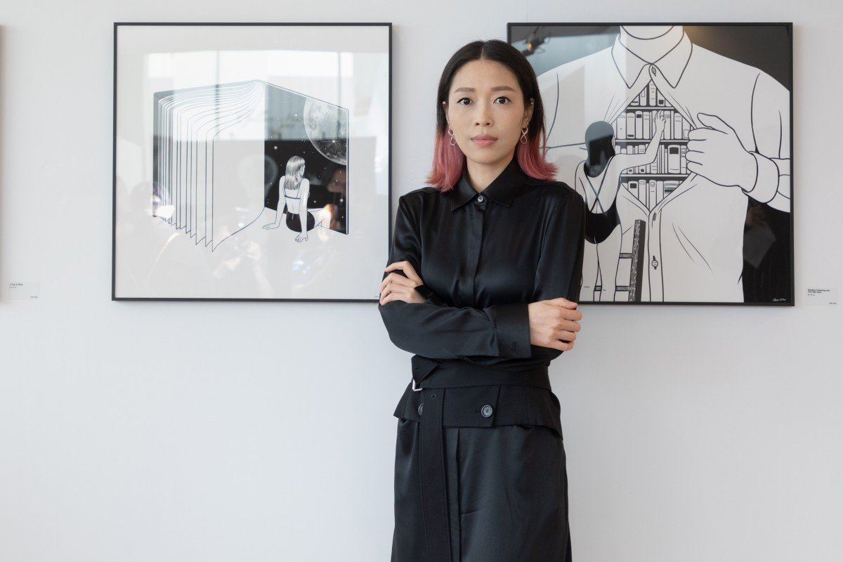 How Instagram star Korean illustrator turns depression into art in