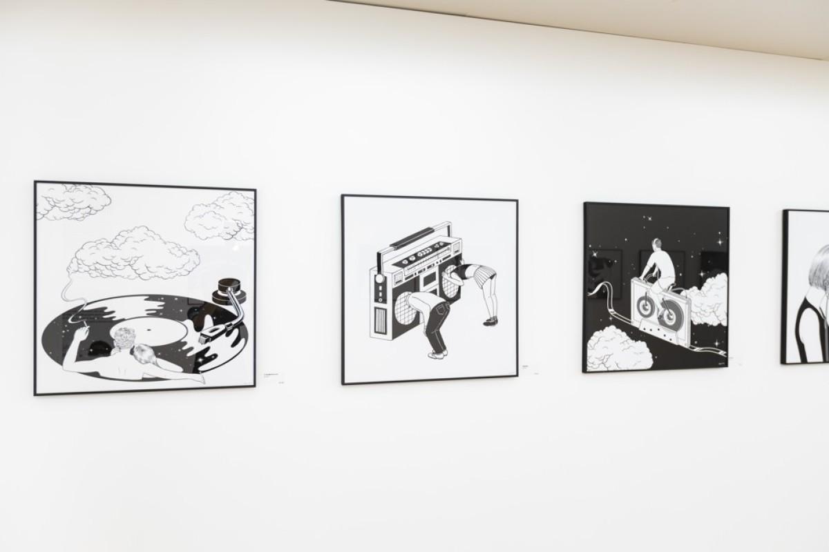 436e5632dd How Instagram star Korean illustrator turns depression into art in black  and white