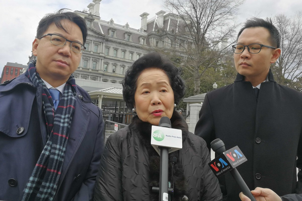 Hong Kong's former No 2 Anson Chan meets with Mike Pence at White House as US report criticises Beijing 'intervention' in city's affairs
