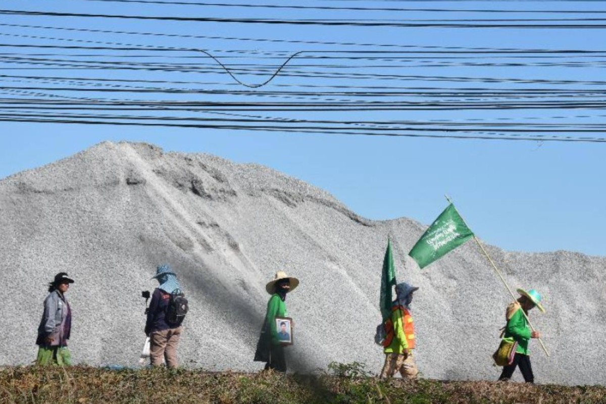 Thai villagers continue to fight Chinese plans for potash