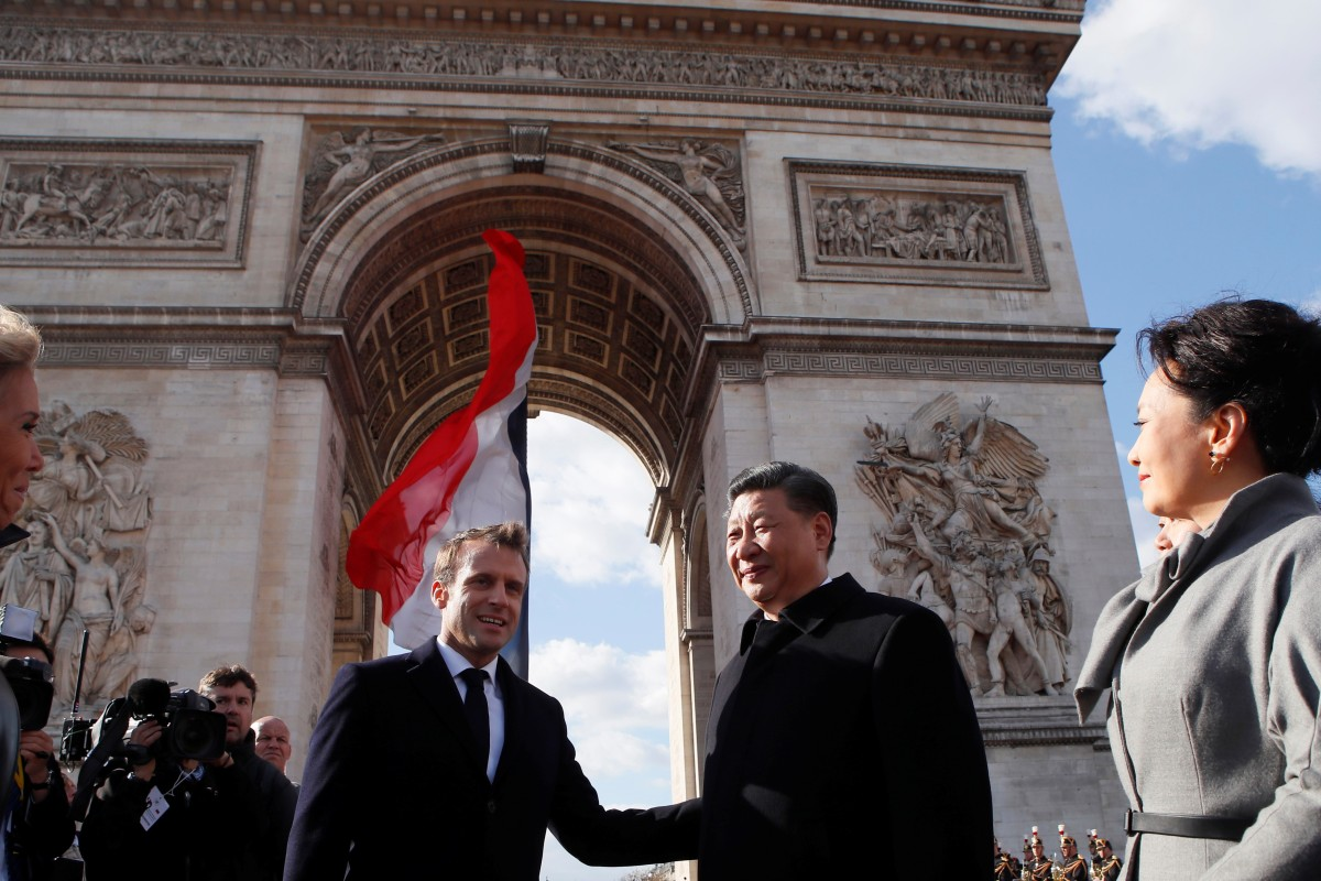Blow to Boeing: China to buy hundreds of Airbus jets, in mammoth US$35 billion deal sealed on Xi Jinping's France visit