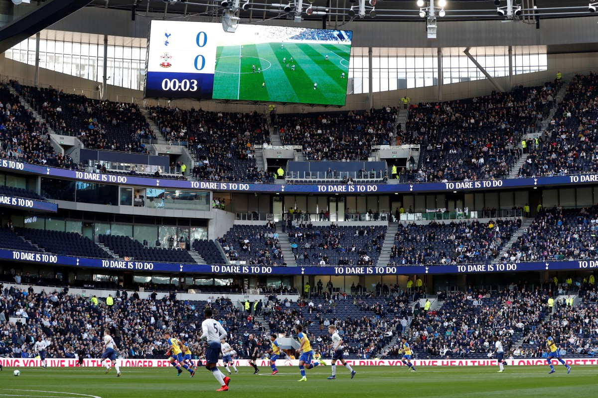 db22c6f81f Tottenham Hotspur Stadium was officially opened last weekend and becomes  the second biggest stadium in England