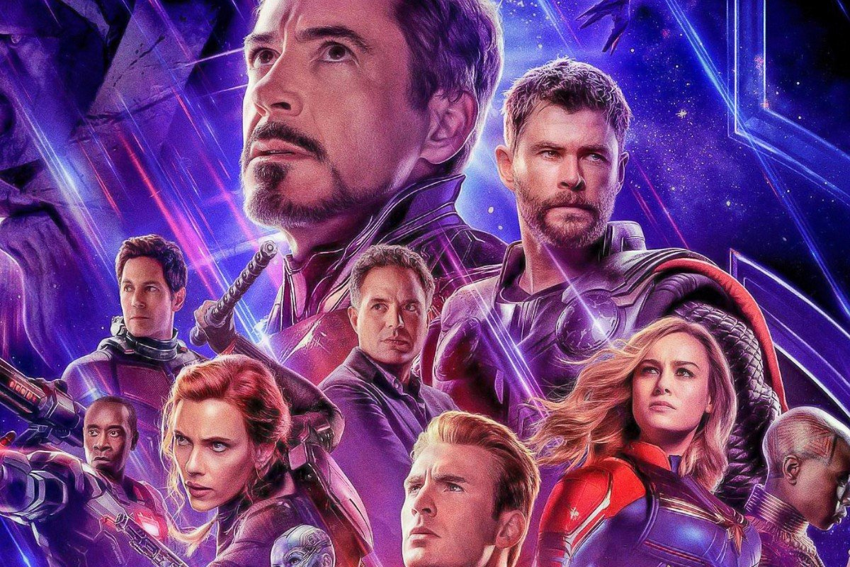 bc643d6a88c2a All the superheroes come together to fight Thanos in the last instalment, ' Avengers: