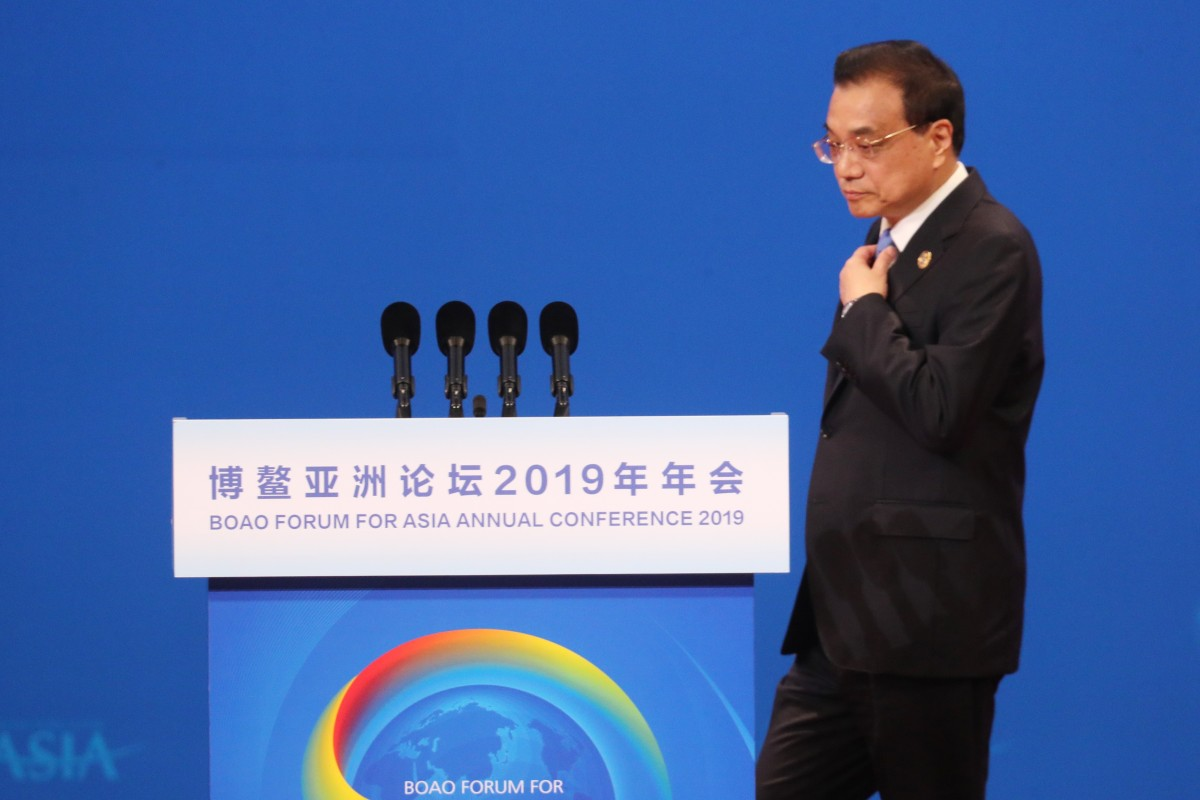 Chinese Premier Li Keqiang talks up 'steady' and 'positive