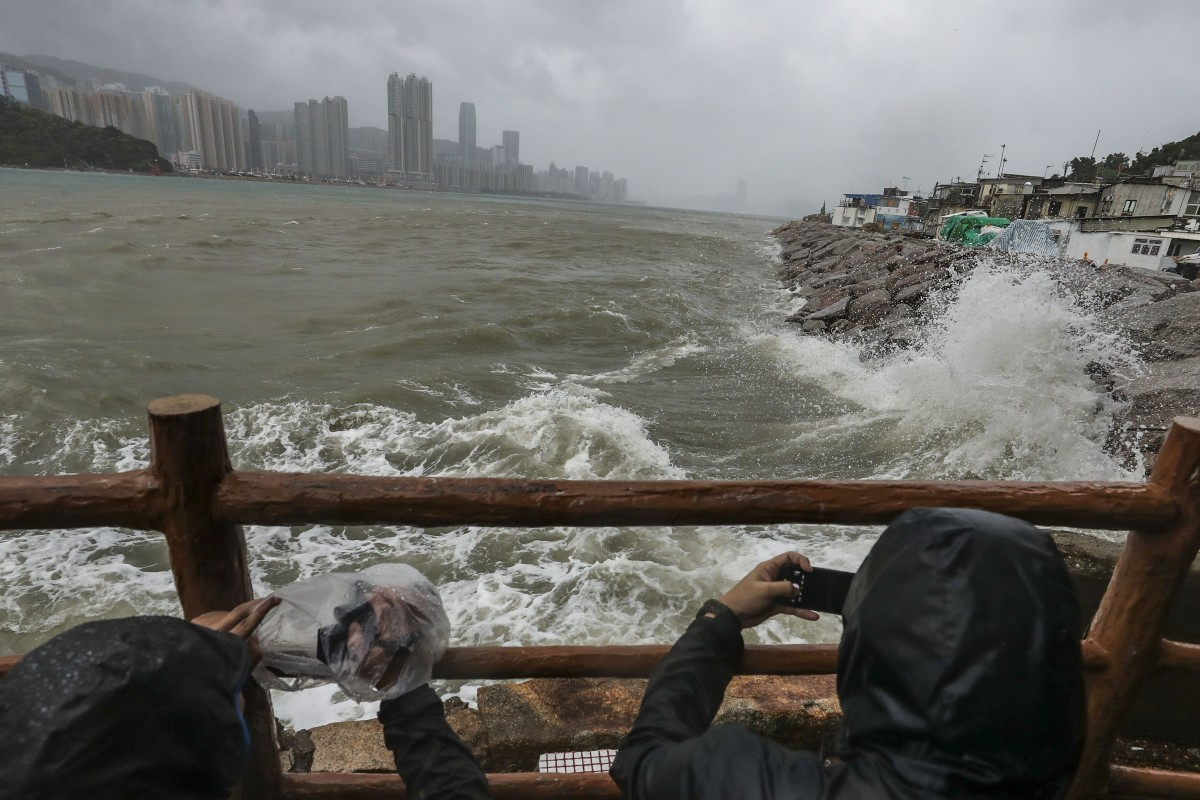 New storm defences for Hong Kong after experience of Typhoon