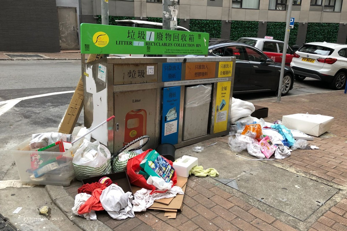 Prove that Hong Kong recycling bins are not just for show | South