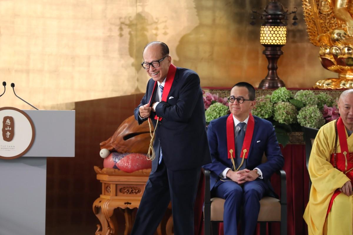 Worldly matters put on hold as Li Ka-shing opens Hong Kong's