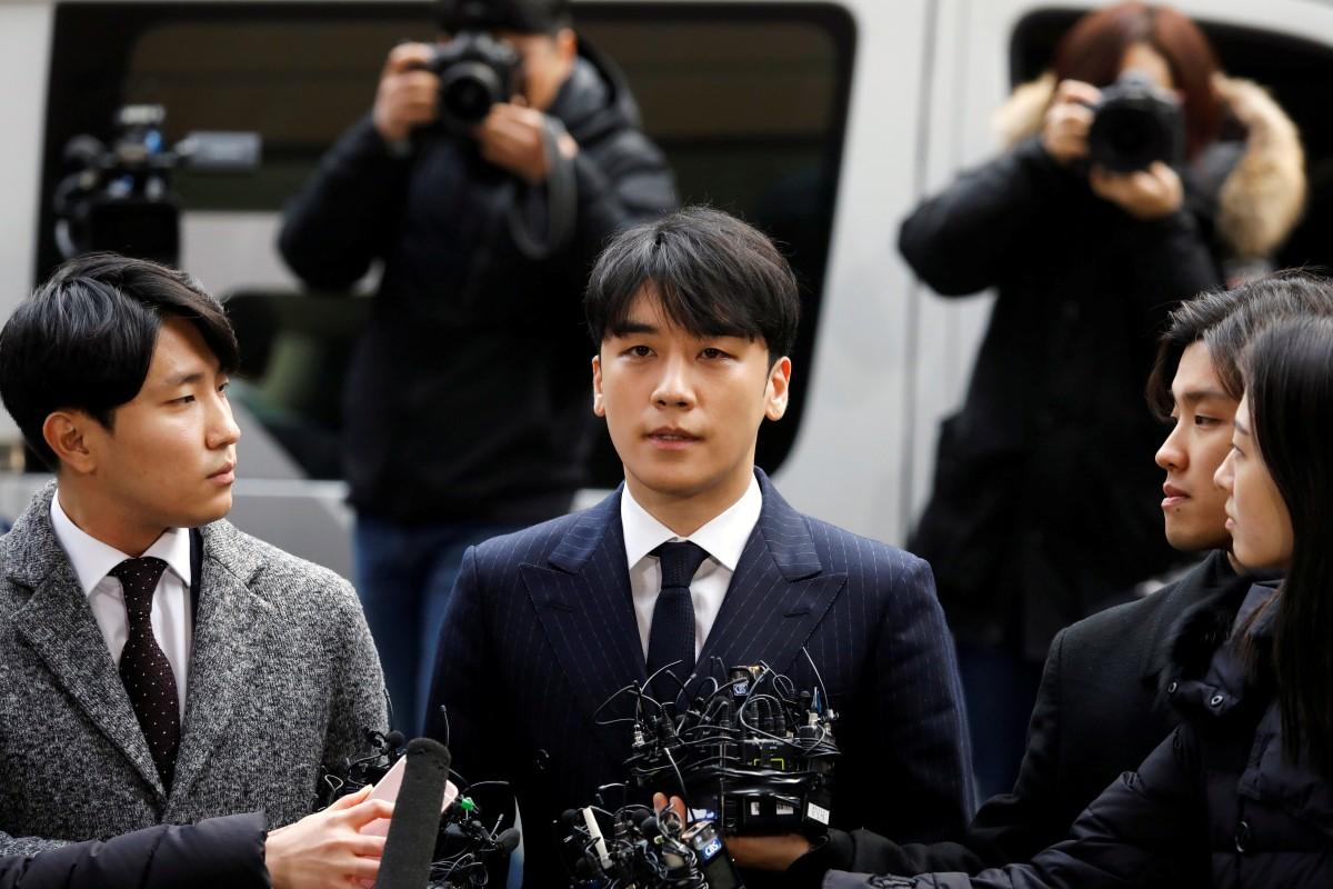 Sex-scandal-hit K-pop star Seungri blames whistle-blower