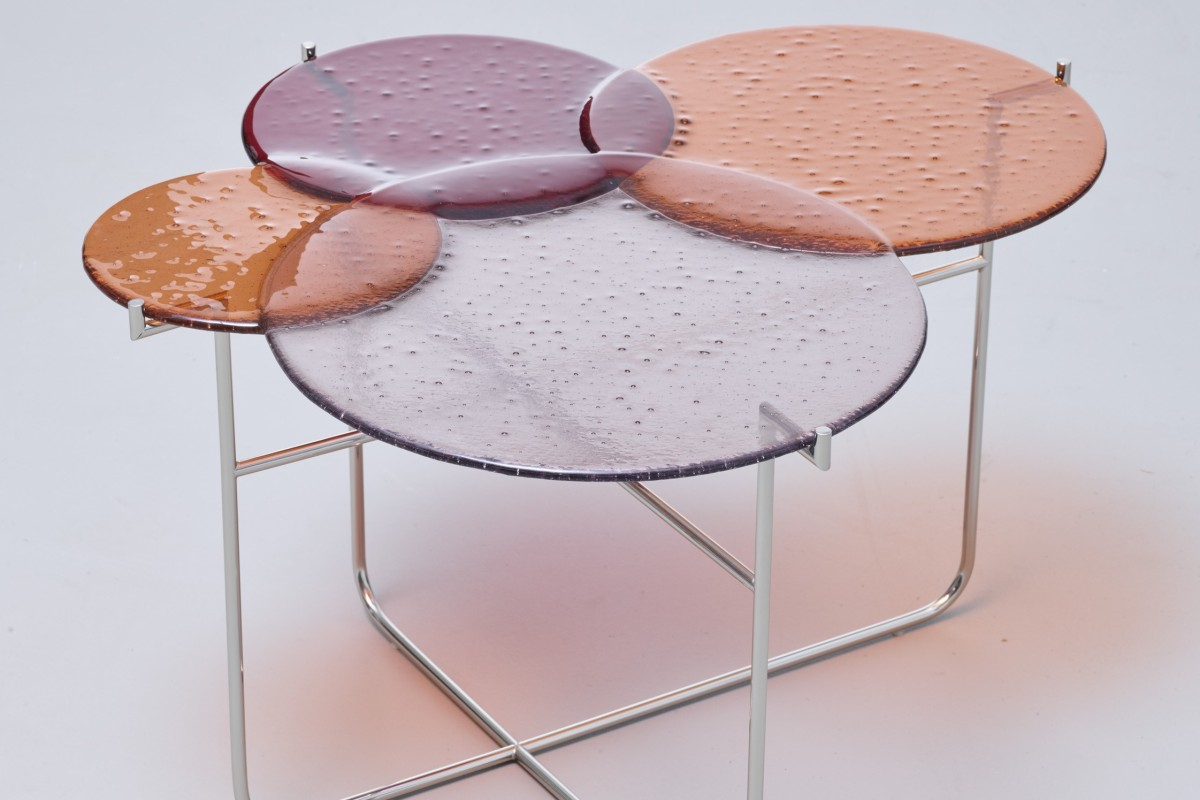 Sebastian Herkner S Pastille Side Tables For Edition Van Treeck Are An Example Of The Resurgence