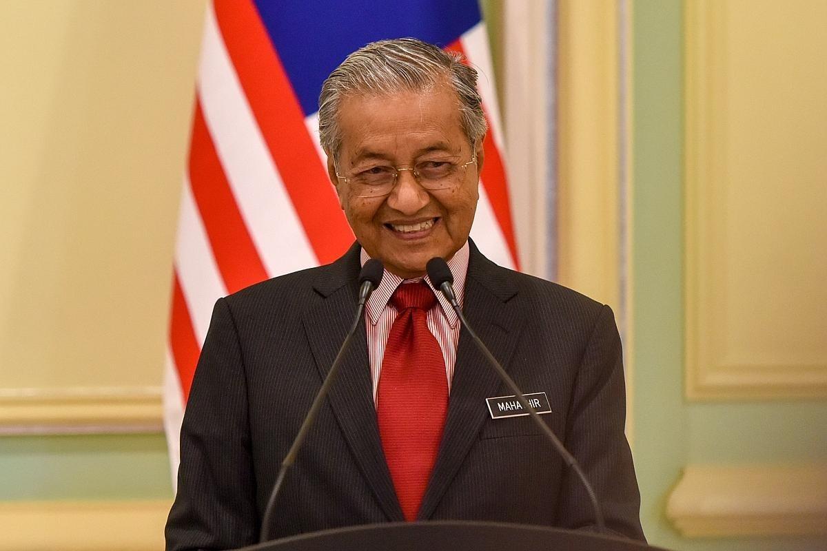 Malaysian Prime Minister Mahathir Mohamad. Photo: Xinhua