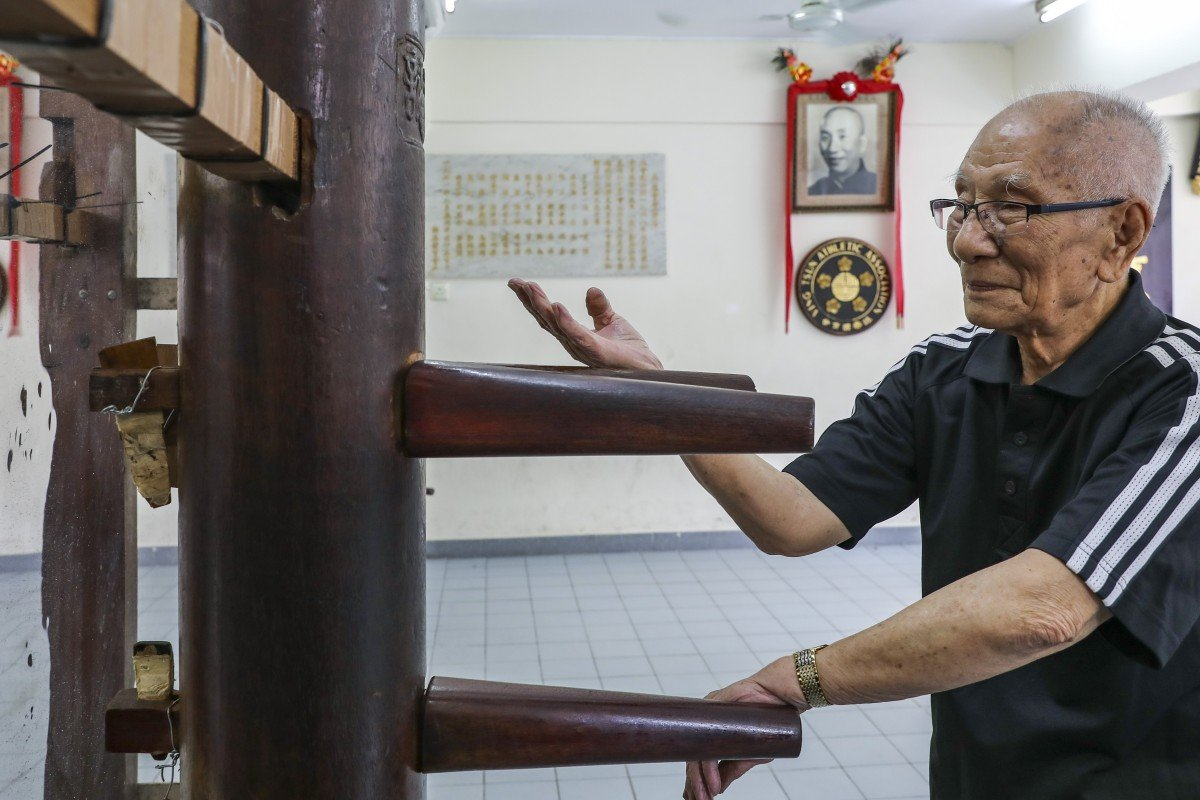 How Ip Chun, son of Hong Kong martial arts titan Ip Man, is carrying on his father's legacy at the grand...