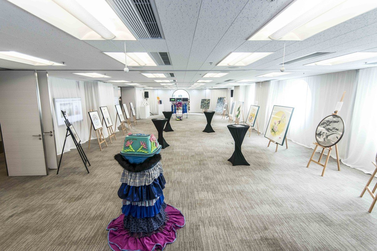 7d2853db1be4 Law firm Clifford Chance Asia-Pacific s Arcus Annual Pride Art exhibition  in Hong Kong.