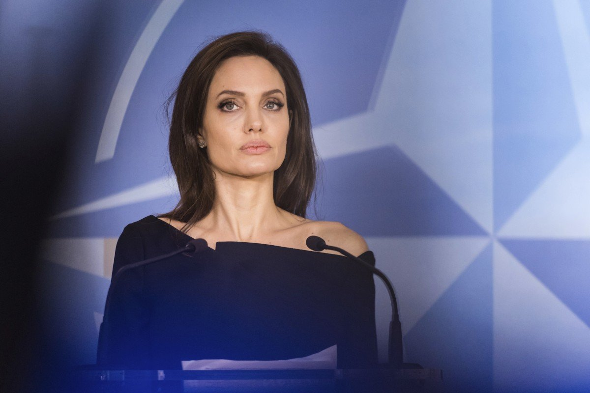100% authentic add91 4d227 Oscar-winning actress Angelina Jolie is in talks to star in the Marvel film