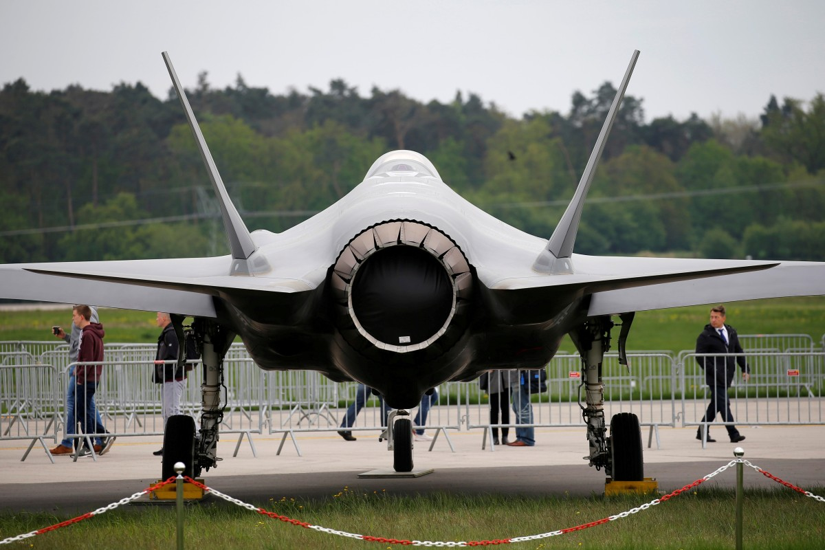 Image result for IT'S OFFICIAL: Trump officially blocks F-35 warplane sale to Turkeyamid tensions