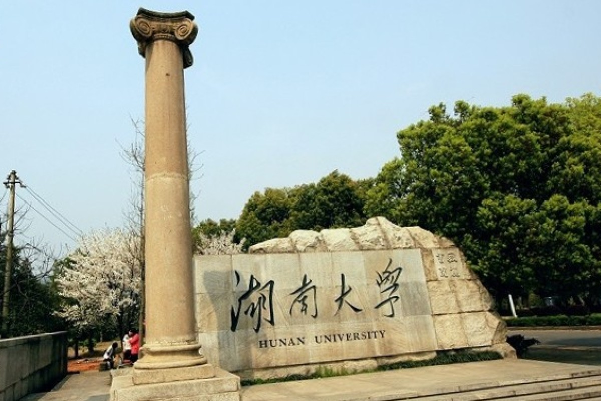 70096fd43 Hunan University in central China has revoked a business graduate's  master's degree and removed a professor