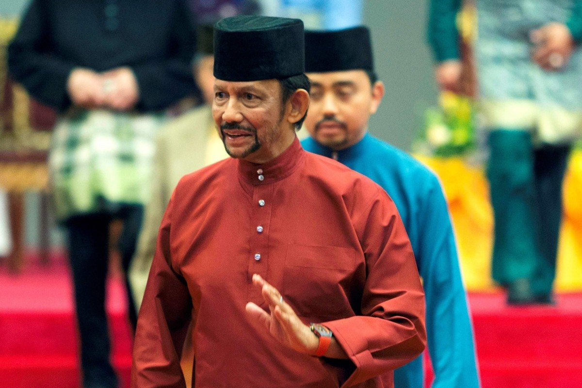 Sultan insists Brunei is 'fair and happy' country despite