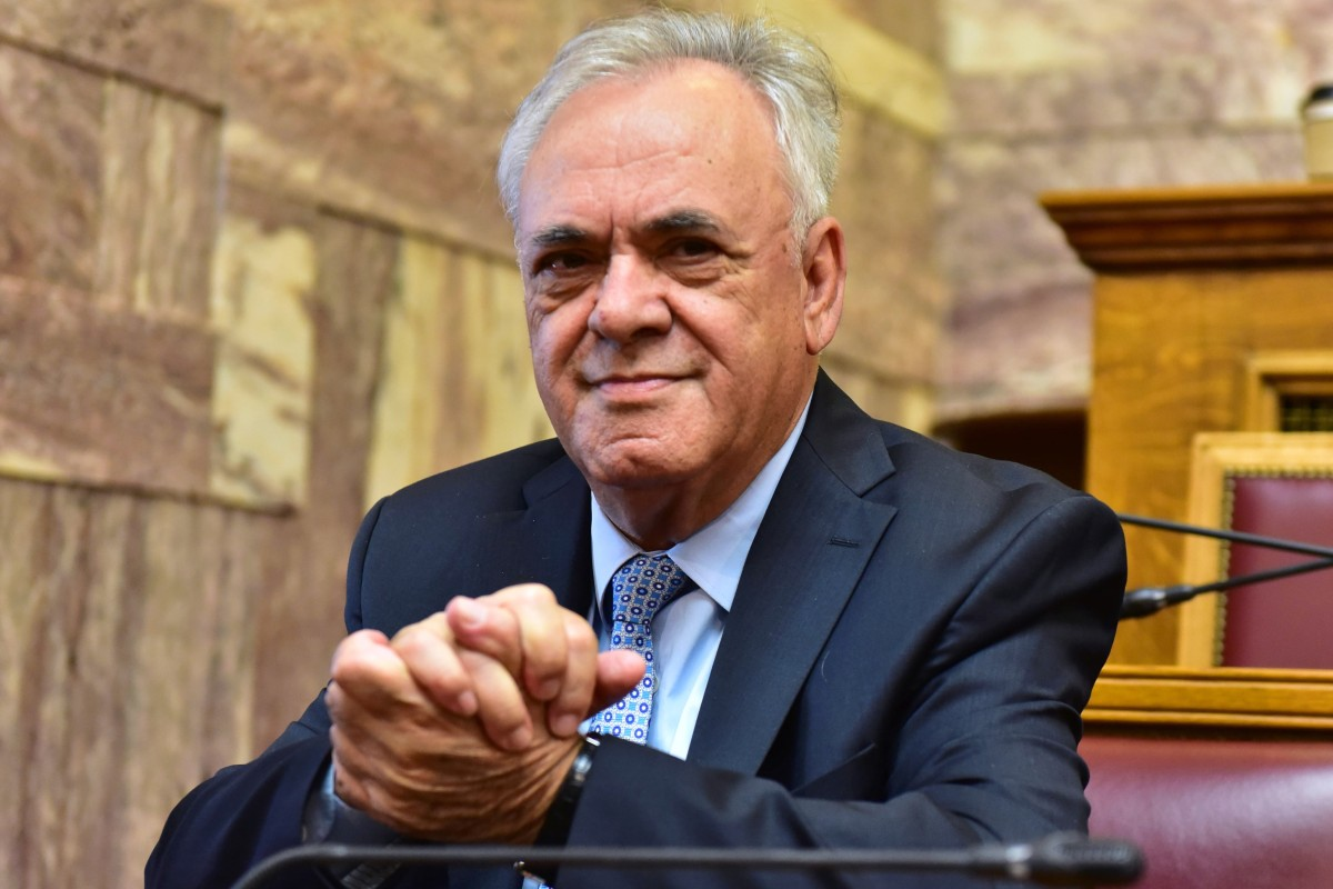 "Greece's deputy prime minister Yannis Dragasakis says the European Union's suspicion about China is in danger of becoming a ""self-fulfilling prophecy"". Photo: Alamy"