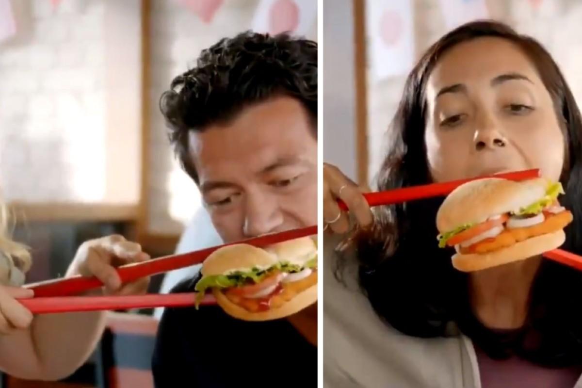 What's Asian? Chopsticks!' Burger King drops ad amid social