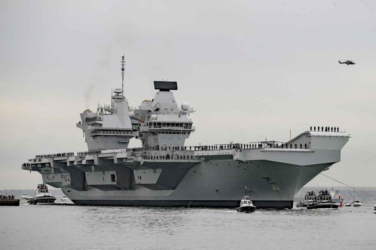 Japan seeks visit from British aircraft carrier to counter