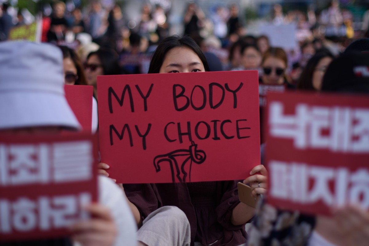 South Korean women hope for law change as constitutional court