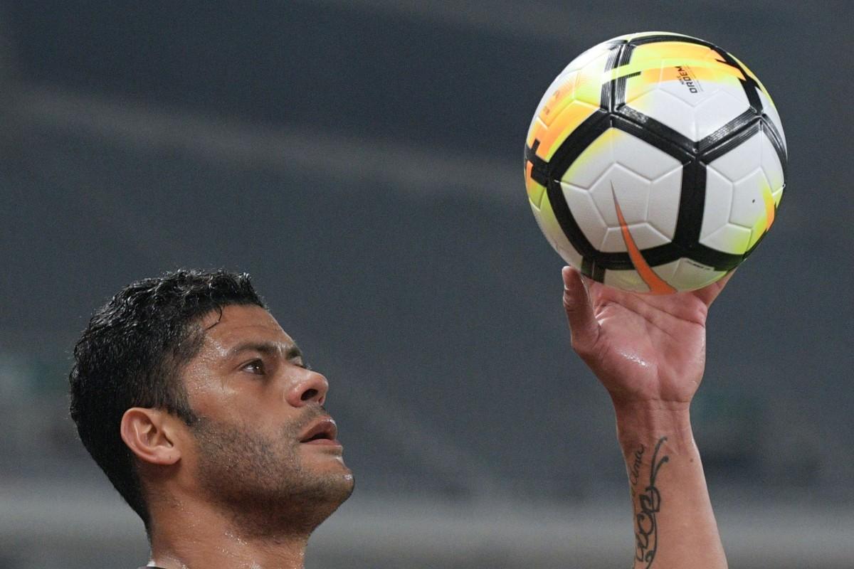 95f1551d9 Brazilian striker Hulk scored for champions Shanghai SIPG in match week  four. Photo  AFP