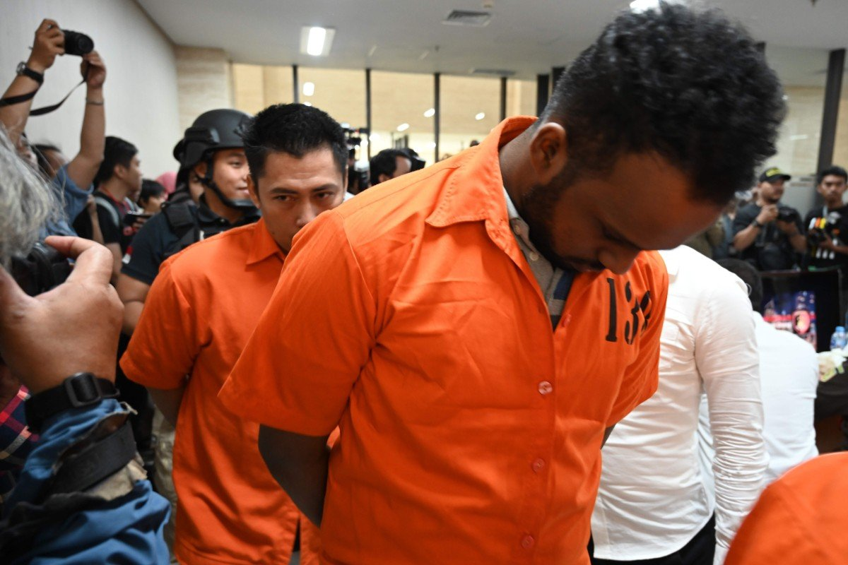 Eight arrested after Indonesian authorities bust four human