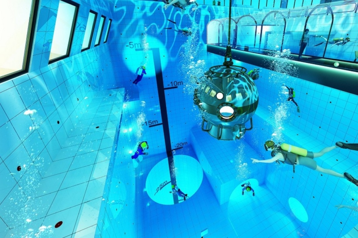 World's deepest diving pool to open in Poland this autumn — a 45