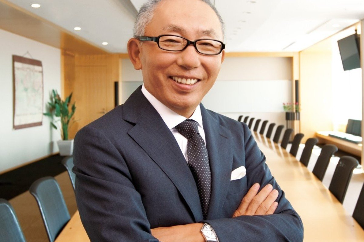 Tadashi Yanai, the Japanese billionaire and golf enthusiast, who is  president and chairman of
