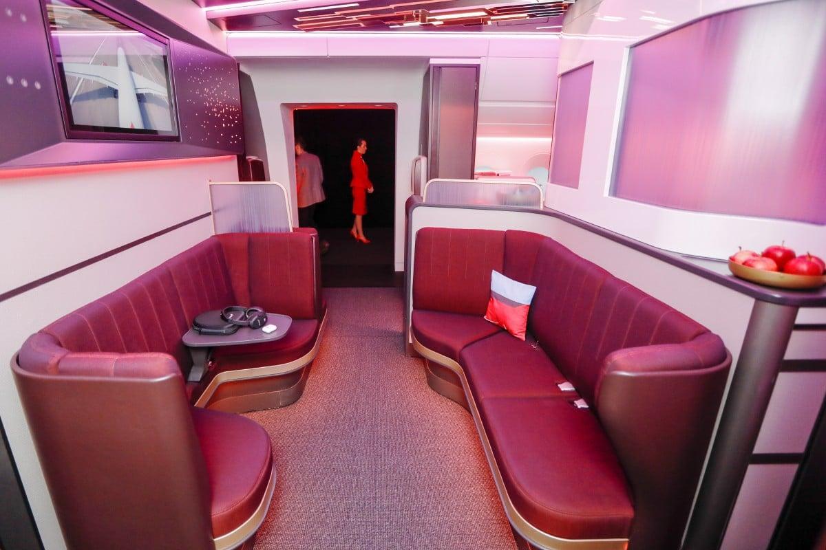 Inside Virgin Atlantic's new luxurious upper class section