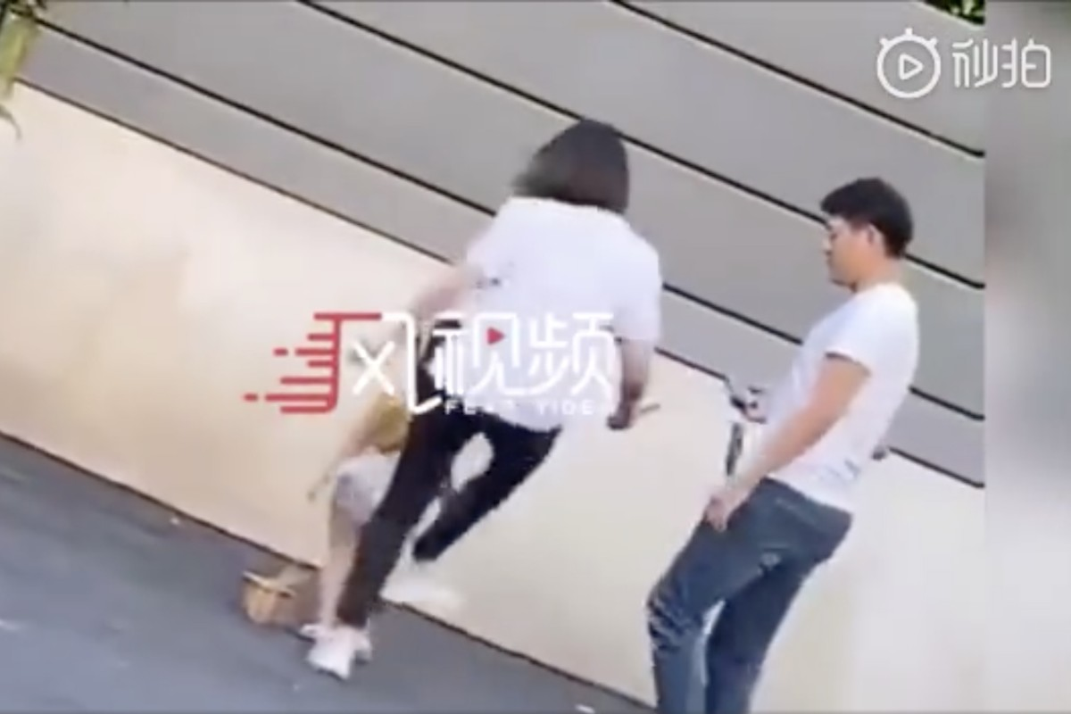 Chinese woman condemned for kicking model daughter, 3, as