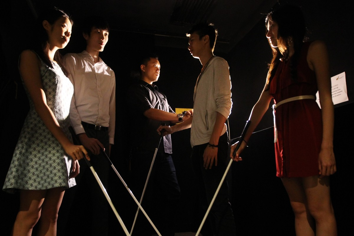 Hong Kong NGO Dialogue in the Dark is changing the game to help young Chinese disabled people shine in the workplace