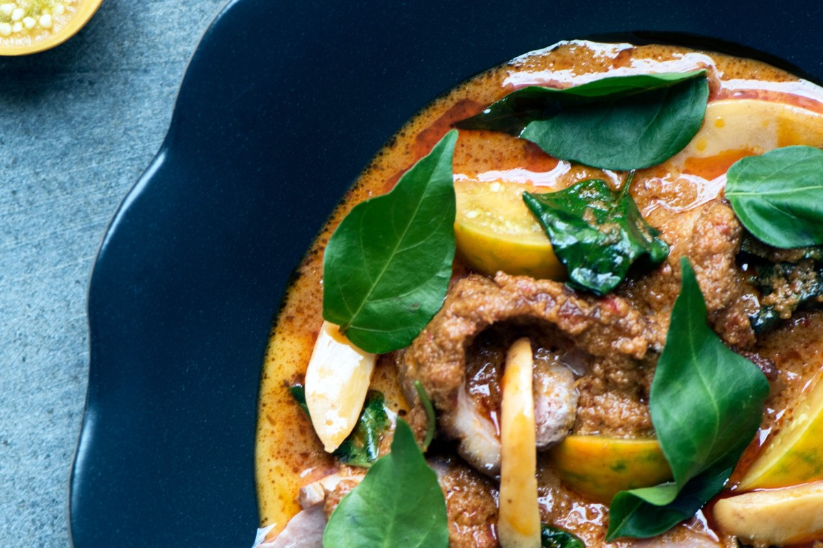 5e7a337fad2 Duck curry with snake fruit from Nahm. The restaurant won a Michelin star  last year