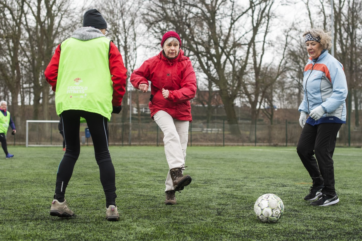 Football Fitness: the Danish grannies soccer team that's