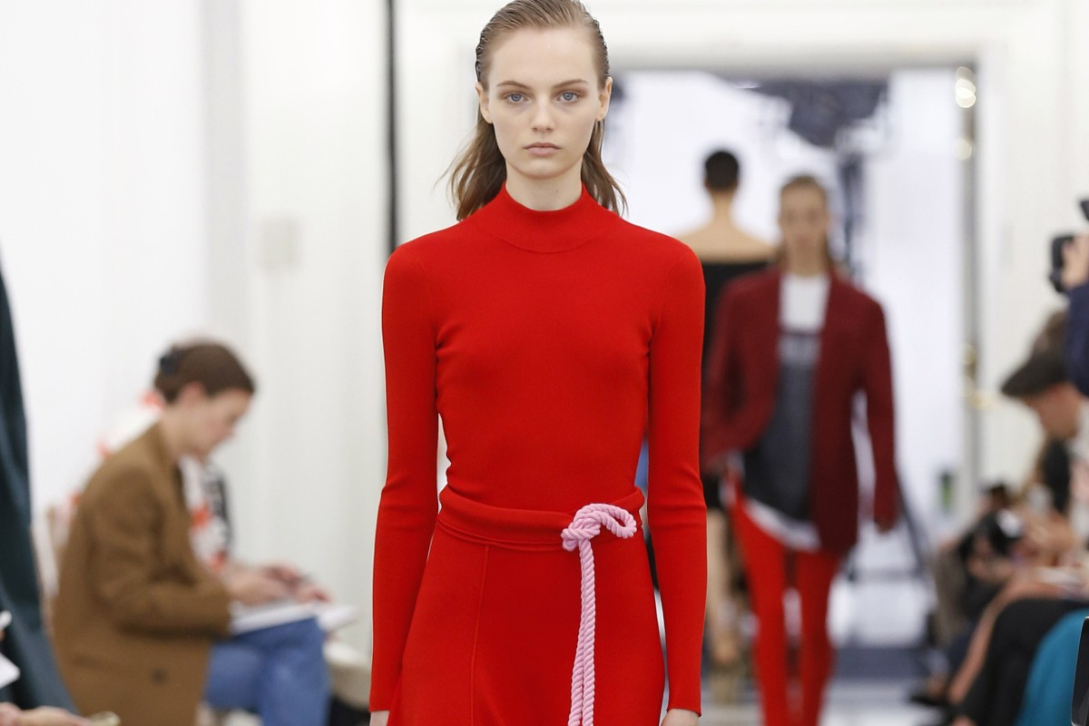 5aec1dae2 The spring/summer 2019 Victoria, Victoria Beckham collection at London  Fashion Week