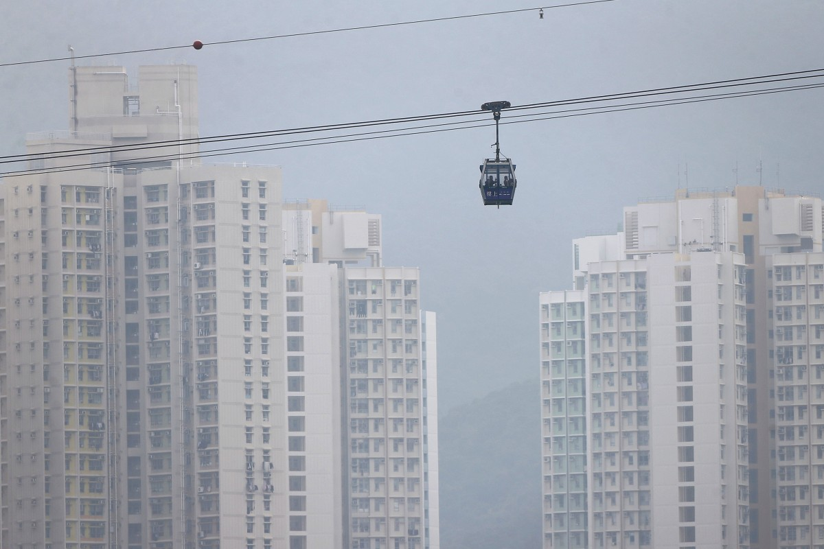 Stormy Weather For Public Libraries And >> Hong Kong Cable Car Ngong Ping 360 Forced To Close As Stormy Weather
