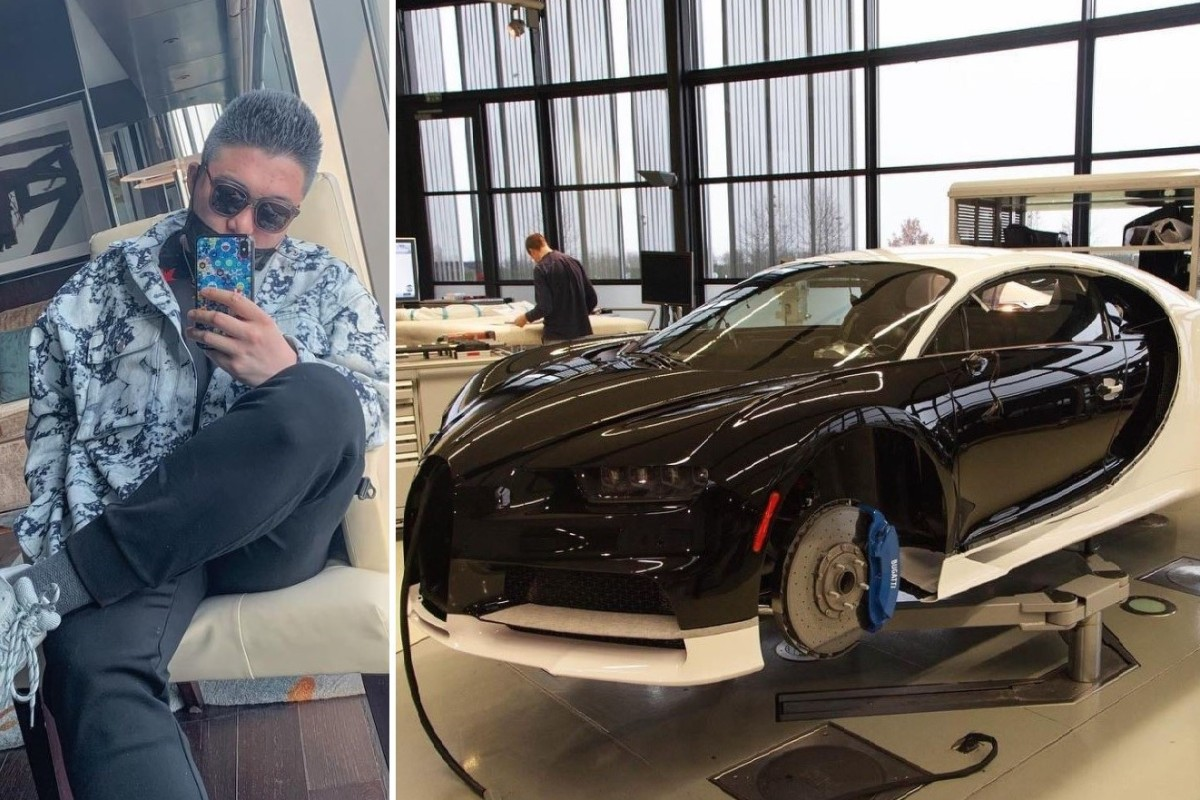 Chinese Tycoon S Son Buys Us 3 8 Million Bugatti Chiron In Vancouver