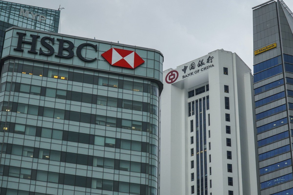 HSBC warns global growth is slowing, US-China trade war