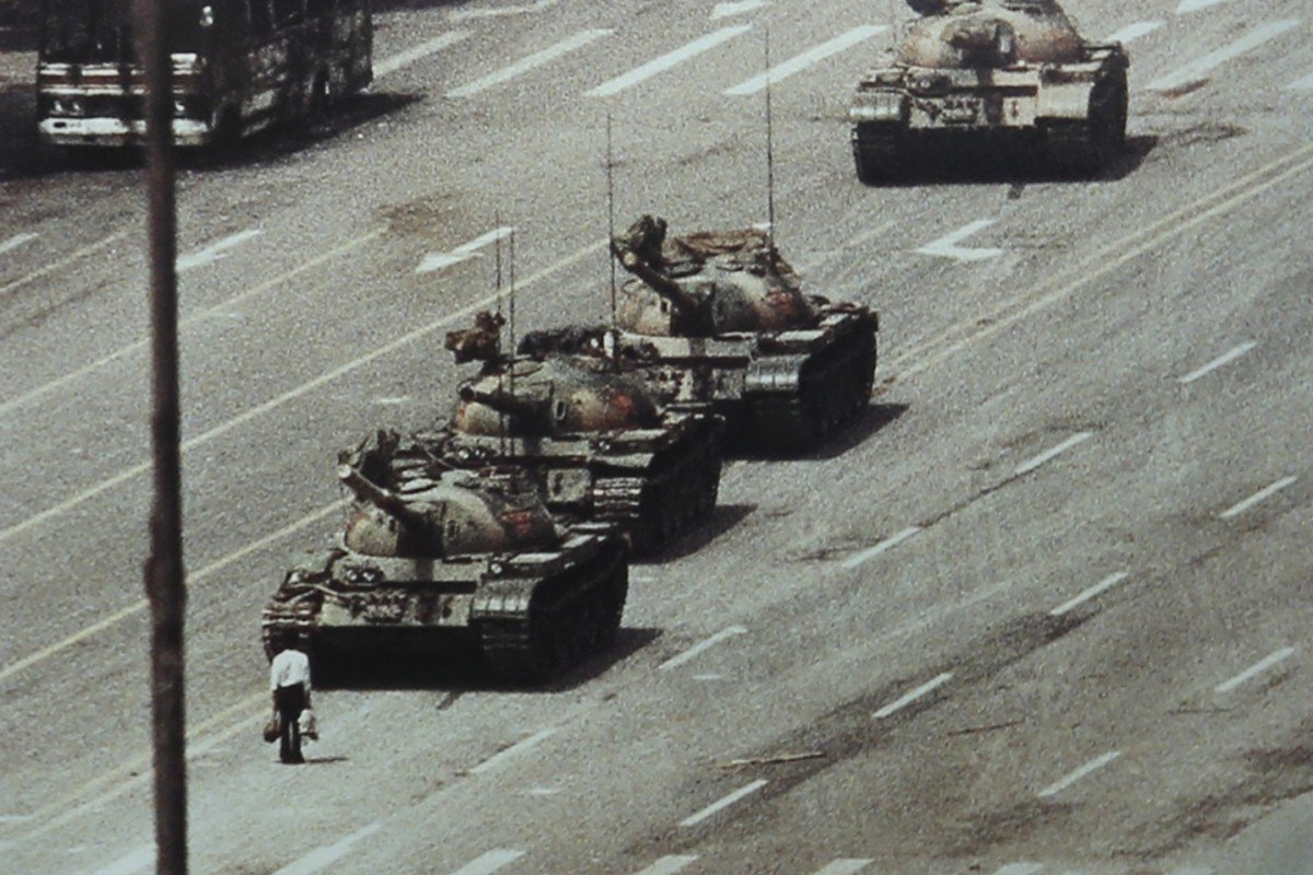 T-shirt designers inspired by Tiananmen Square Tank Man and