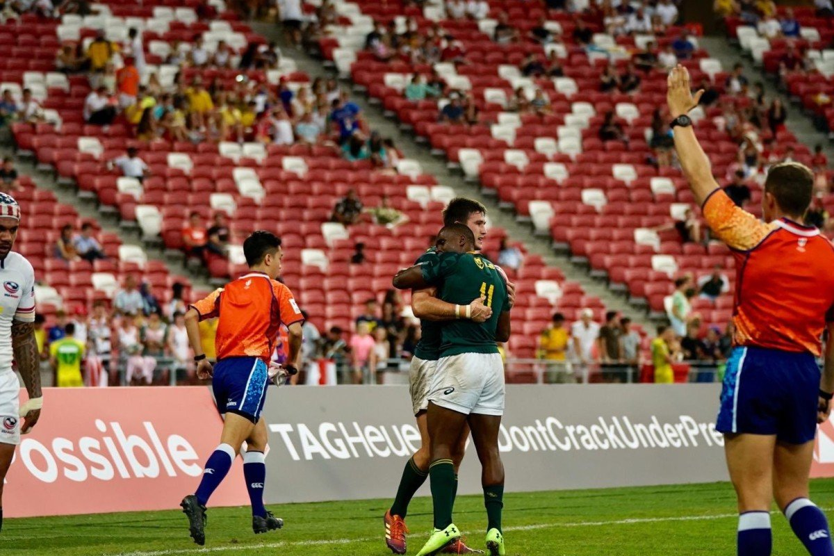 Singapore Sevens: South Africa beat Fiji in final as Hong Kong settle for 14th place
