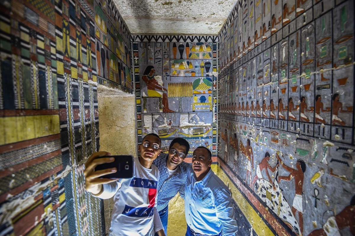 Stunning pictures show inside of 4,000-year-old ancient Egyptian tomb