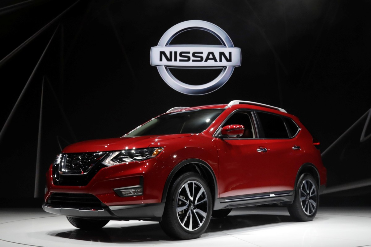 bee5da52d338 A Nissan Rogue Sport is seen in April 2017. A US consumer group wants the