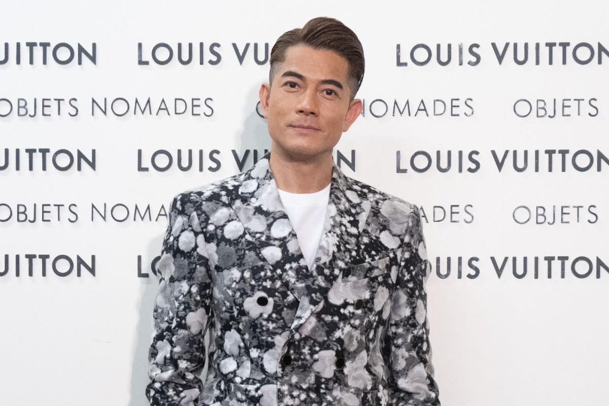 80be13e4ad935 Aaron Kwok joins Louis Vuitton s Objets Nomades exhibition opening in Hong  Kong.