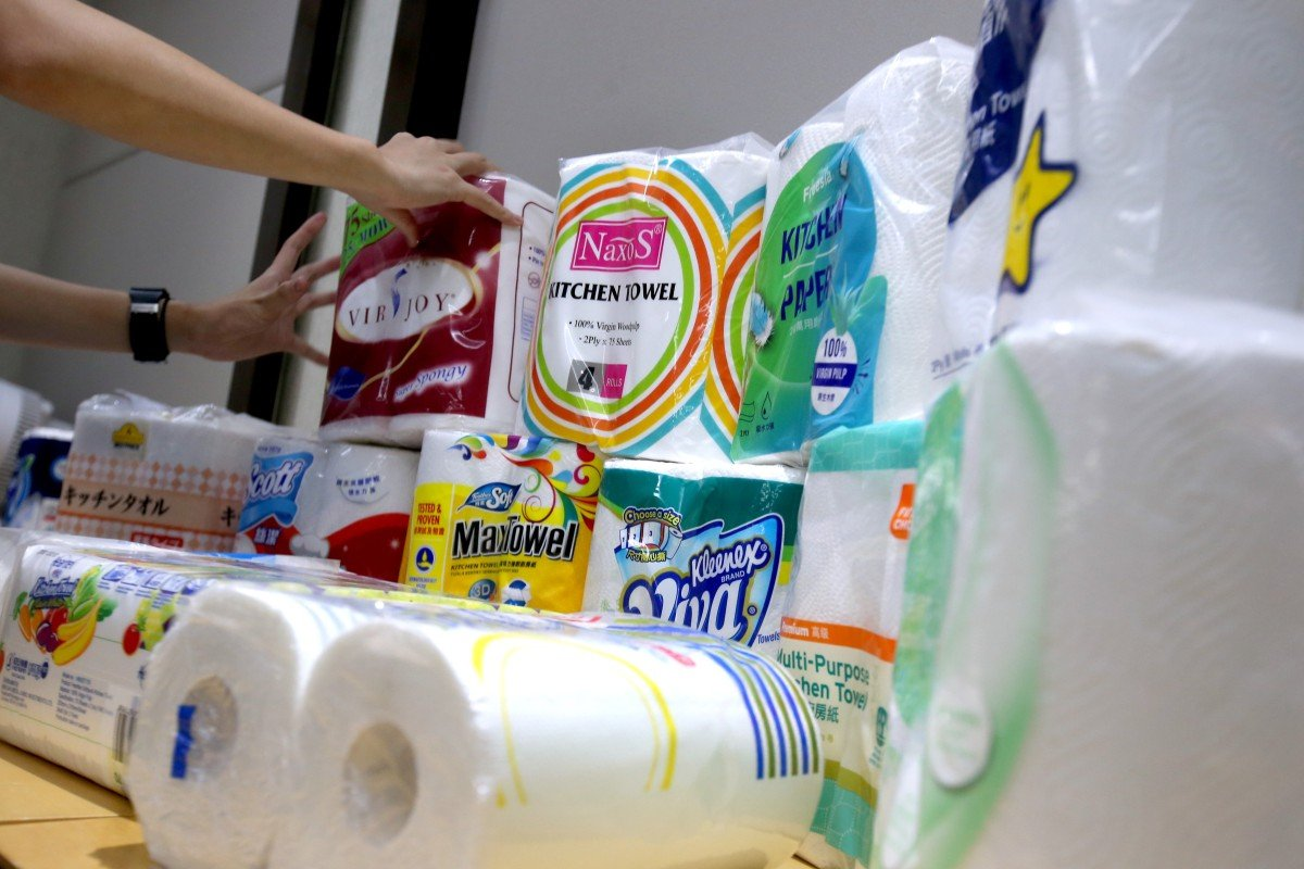 Tests On 15 Brands Of Kitchen Towel Carried Out By The Consumer Council  Have Revealed That