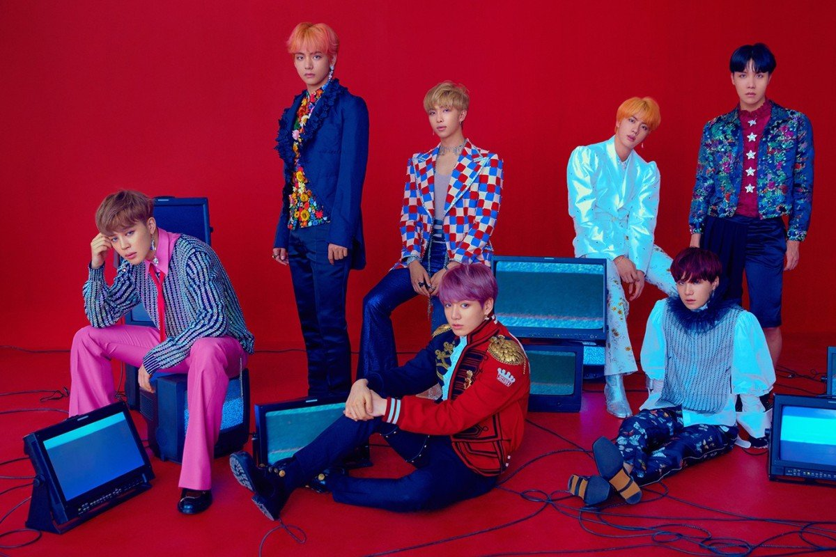 331aba24ce05 K-pop boy band BTS appeared on Saturday s American television variety show