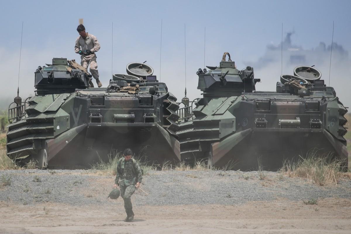 US-Philippine Balikatan military exercises in South China