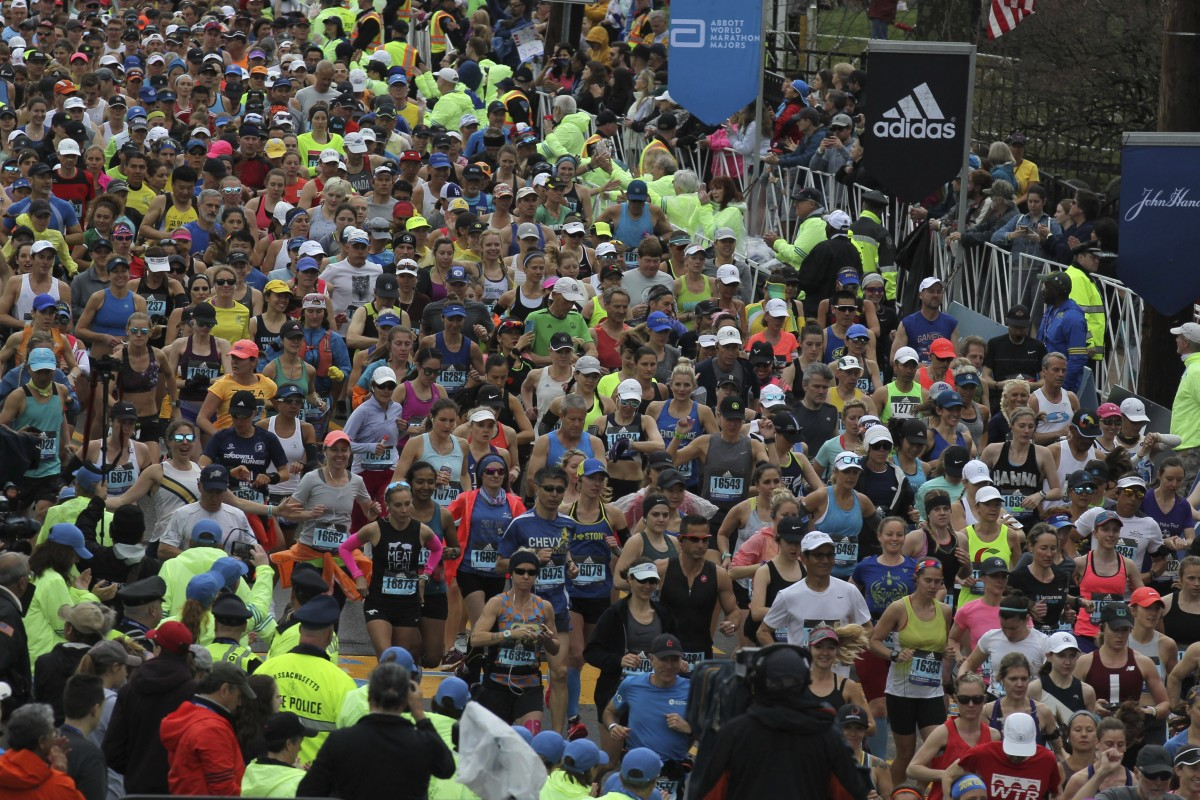 cc6983e0f15e1 The Boston Marathon is one of the world s most prestigious running events  and one source claims