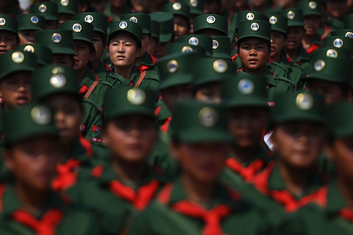 'Masters of our destiny': Myanmar's 25,000 United Wa State Army rebels in show of force on 30 year...