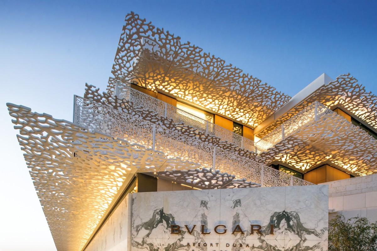 0e757d0450e42e The Bulgari Resort in Dubai, one of the luxury brand's six hotels around  the world
