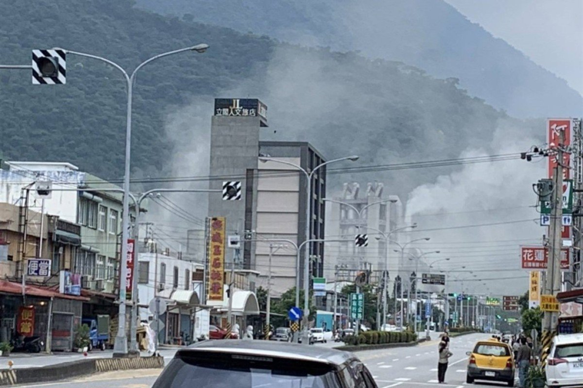 A magnitude 6.1 earthquake hit the area around Hualien in Taiwan on Thursday. Photo: CNA